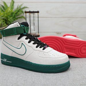 Nike Air Force 1 Women Shoes High Top Sneskers